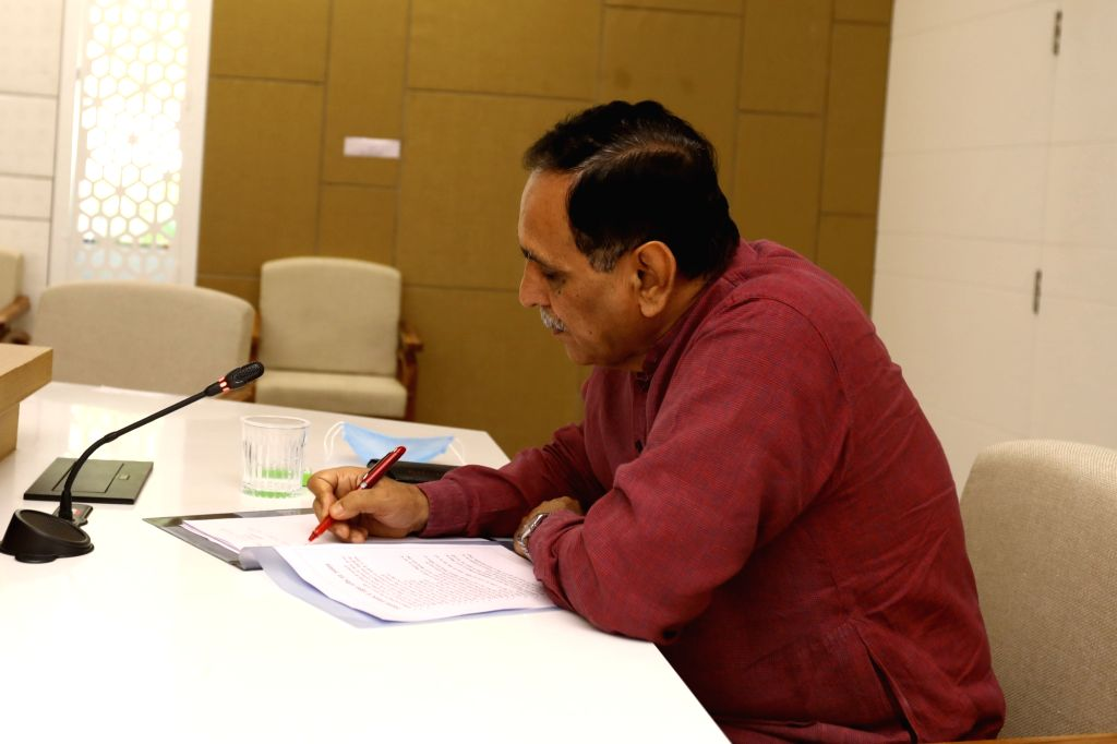Gujarat Chief Minister Vijay Rupani. - Vijay Rupani