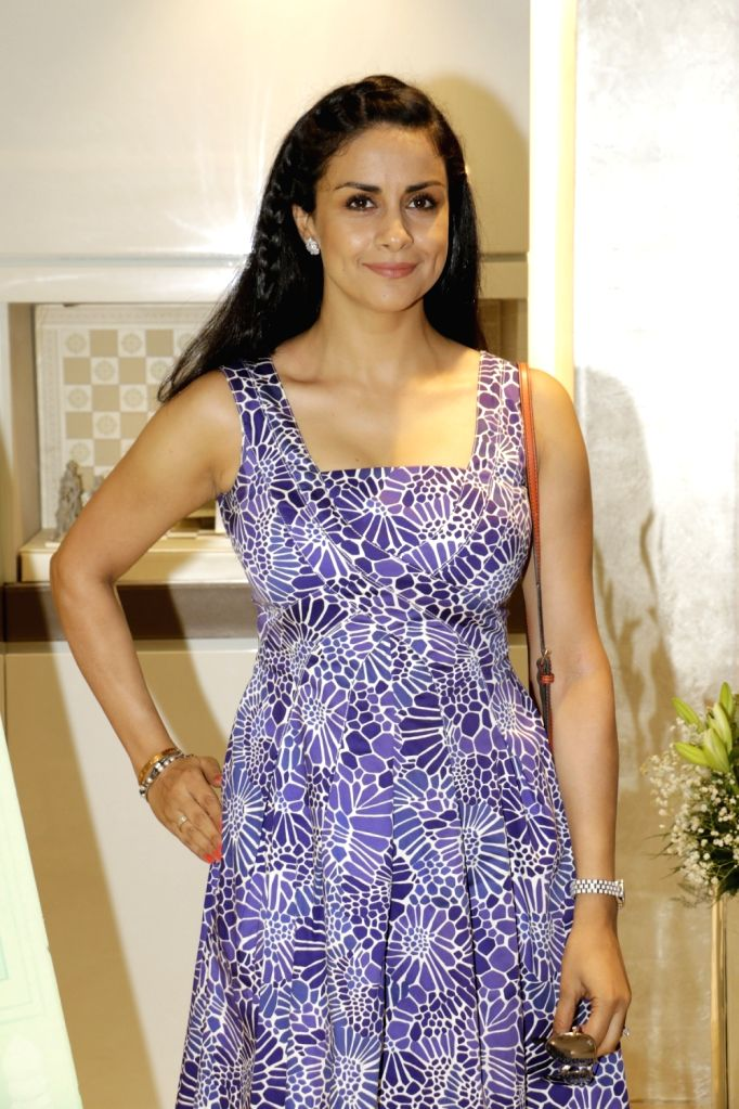 Gul Panag arrives for a discussion on summer style and beauty trends by Zoya boutique in Mumbai on April 20, 2016. - Gul Panag