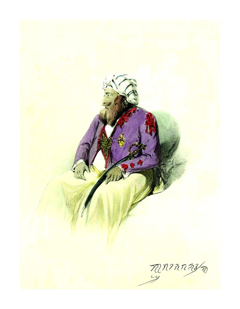 Gulab Singh by Charles Harding. (Photo Source: Hubris Foundation) - Gulab Singh
