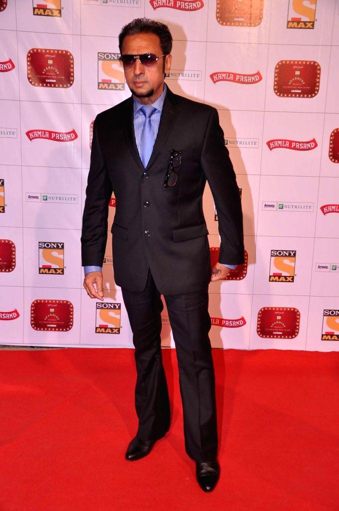 Gulshan Grover at the red carpet of Stardust Awards at Jan 26 in Mumbai. - Gulshan Grover