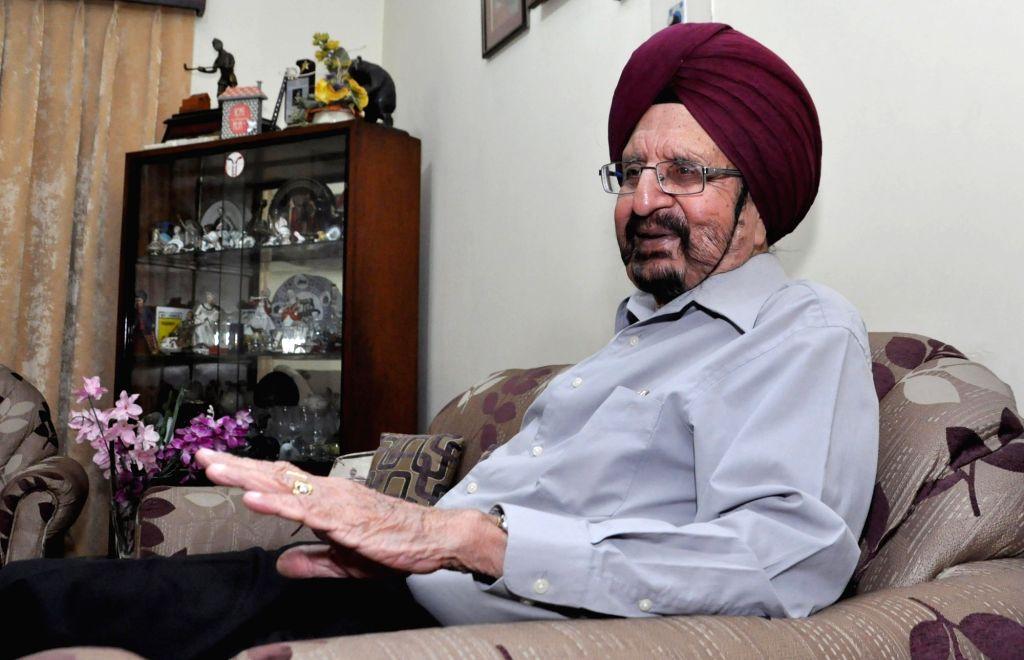 Gurbux Singh. (Photo: Kuntal Chakrabarty/IANS) - Gurbux Singh