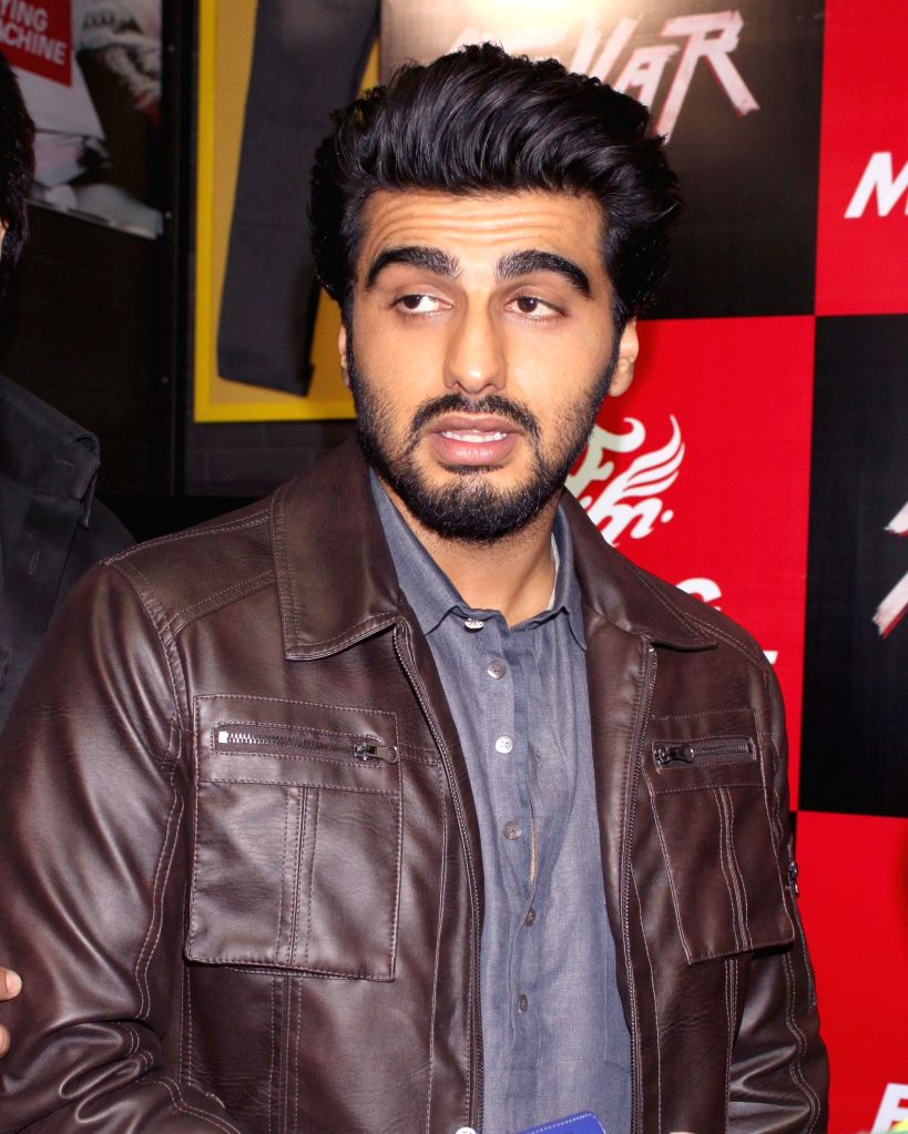 Actor Arjun Kapoor during a promotional event in Gurgaon, on Dec 16, 2014.