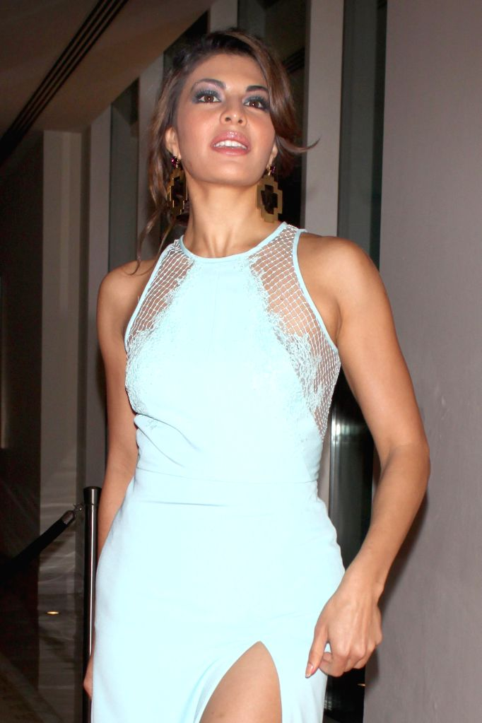 Actress Jacqueline Fernandez during Hindustan Times Delhi`s Most Stylish Awards 2015, held in Gurgaon, on May 2, 2015. - Jacqueline Fernandez