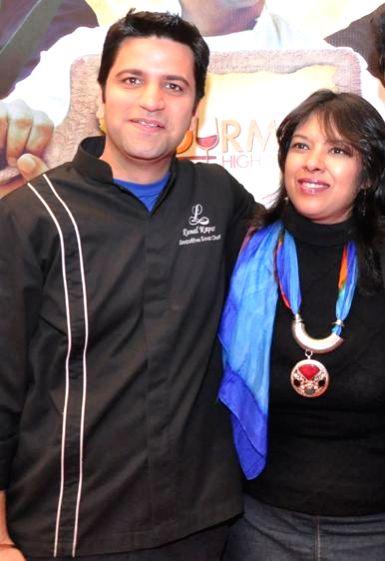 Chef Kunal Kapoor at Gourmet High Street - Gurgaon's first International food and Drink festival in Gurgaon, on Dec 5, 2014. - Kunal Kapoor