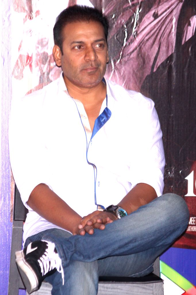 Filmmaker Bobby Khan during the promotion of film `Ek Paheli Leela`, in Gurgaon on April 7,2015.