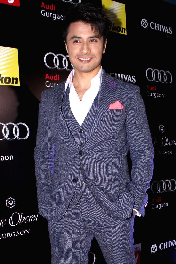 Singer-actor Ali Zafar during Hindustan Times Delhi`s Most Stylish Awards 2015, held in Gurgaon, on May 2, 2015. - Ali Zafar