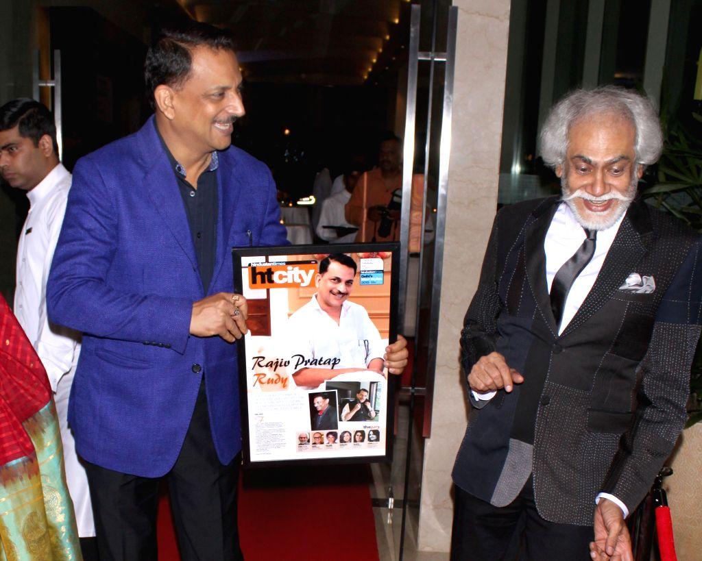 Union Minister Rajiv Pratap Rudy during Hindustan Times Delhi`s Most Stylish Awards 2015, held in Gurgaon, on May 2, 2015. - Rajiv Pratap Rudy