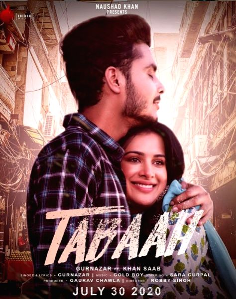 Gurnazar Chattha's new song 'Tabaah' talks of 'pain of love'.