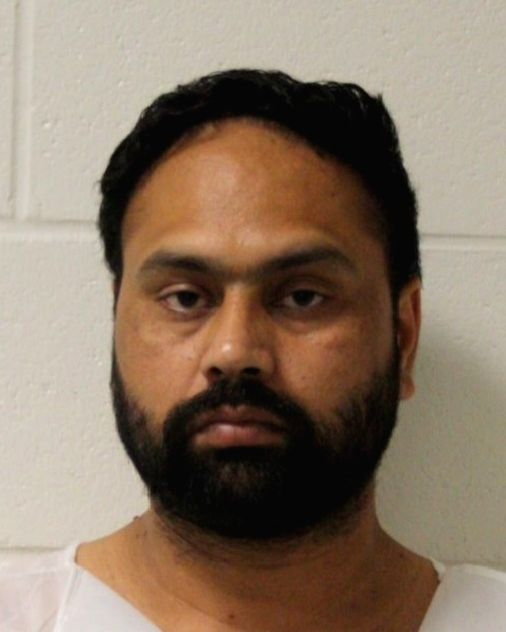 Gurpreet Singh was arrested in Branford, Connecticut state, on Tuesday, July 2, 2019, in connection with the with killing his wife, her parents and her aunt in April in West Chester, Ohio state. (Photo: Branford Police) - Gurpreet Singh