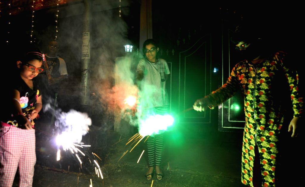 Gurugram: 59 challaned for bursting firecrackers on Diwali