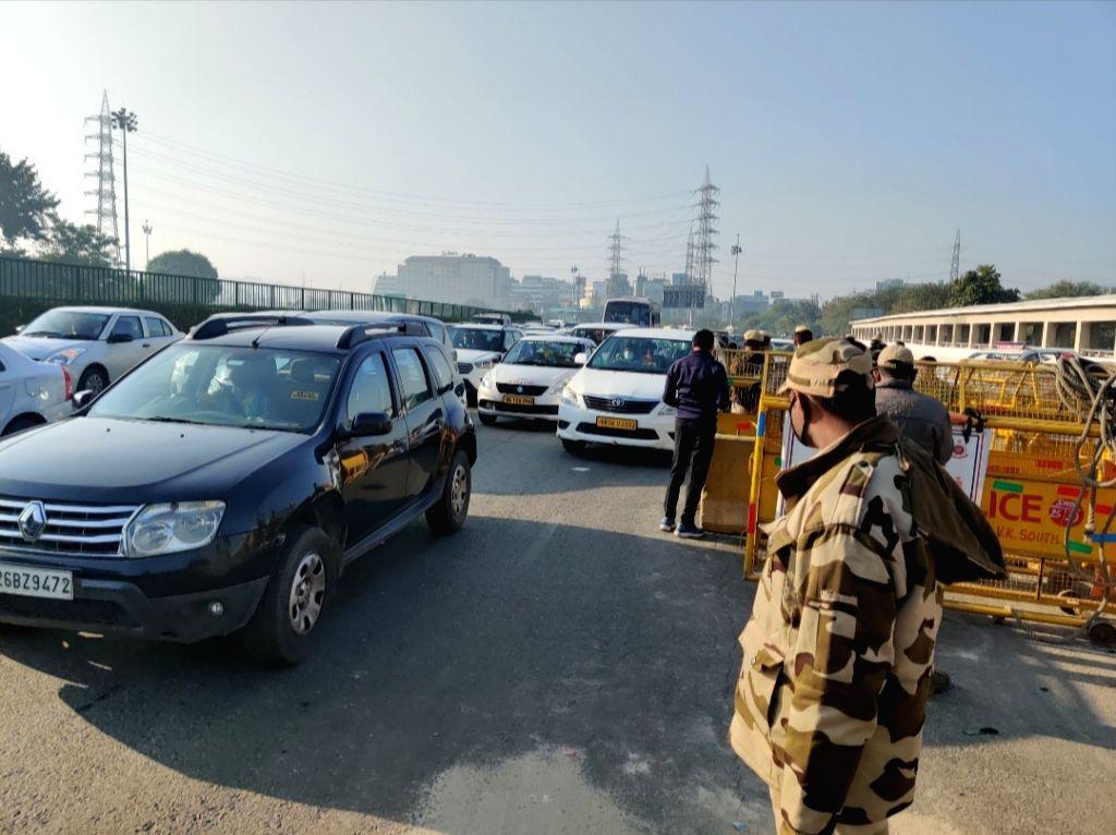 Gurugram border.