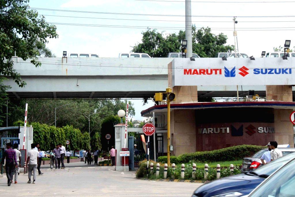 Gurugram: Maruti Suzuki plant, Gurugram. (Photo: Bidesh Manna/IANS)