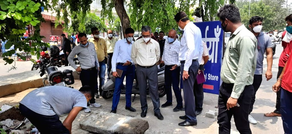 Gurugram: MCG Commissioner inspected various locations ahead of Monsoon
