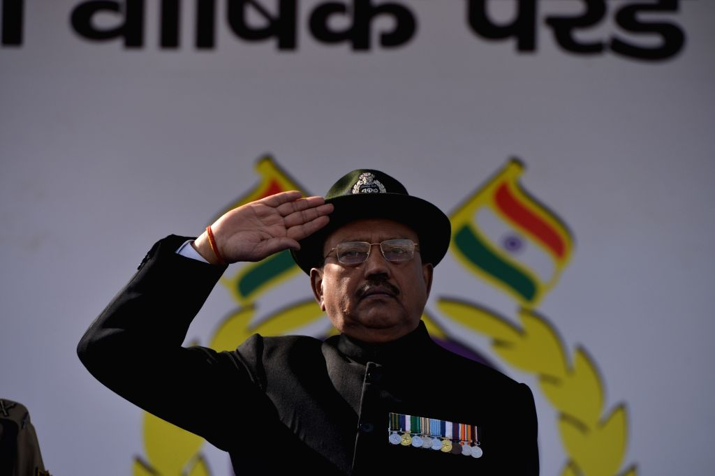 Gurugram: National Security Adviser (NSA) Ajit Doval during the 80th Raising Day celebrations of the Central Reserve Police Force (CRPF) in Gurugram, on March 19, 2019. (Photo: IANS)