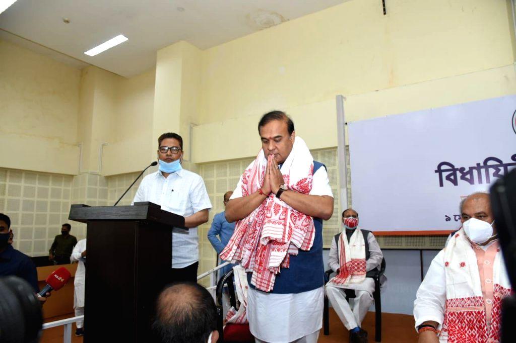 Guwahati: Himanta Biswa Sarma to be new CM of Assam.