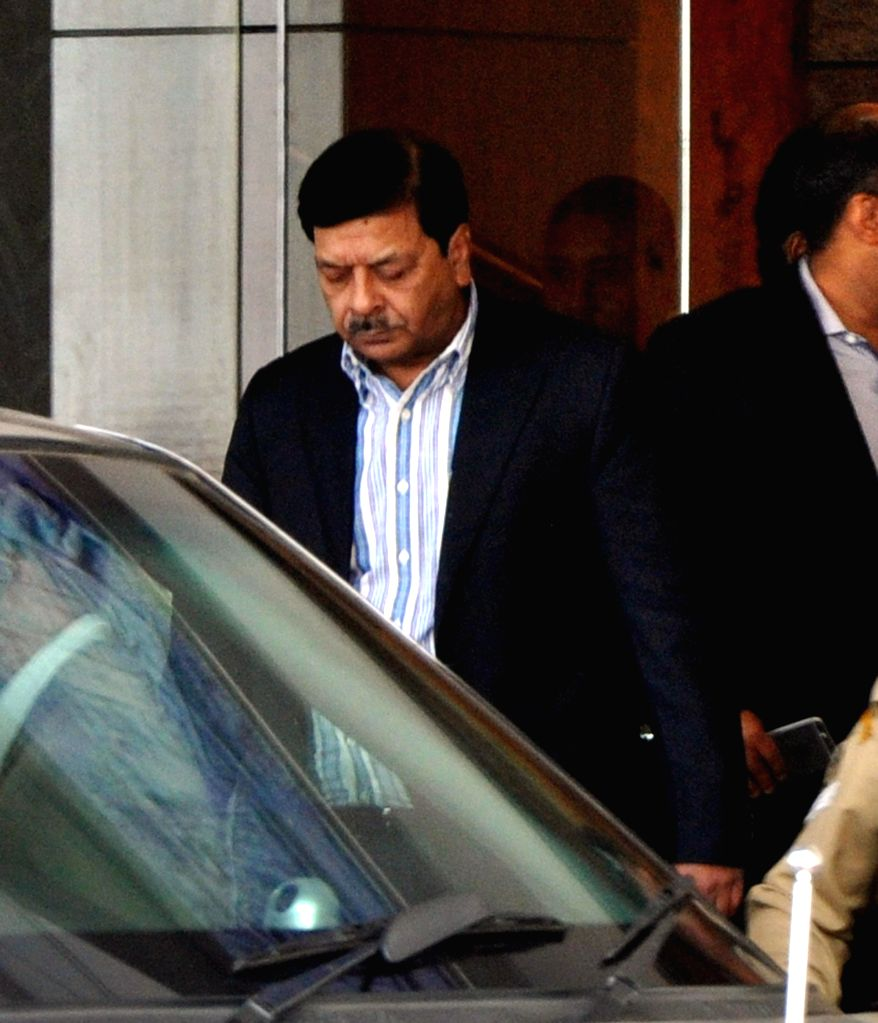 The National Investigating Agency (NIA) DG Sharad Kumar arrives in Guwahati on Jan. 6, 2014. - Sharad Kumar