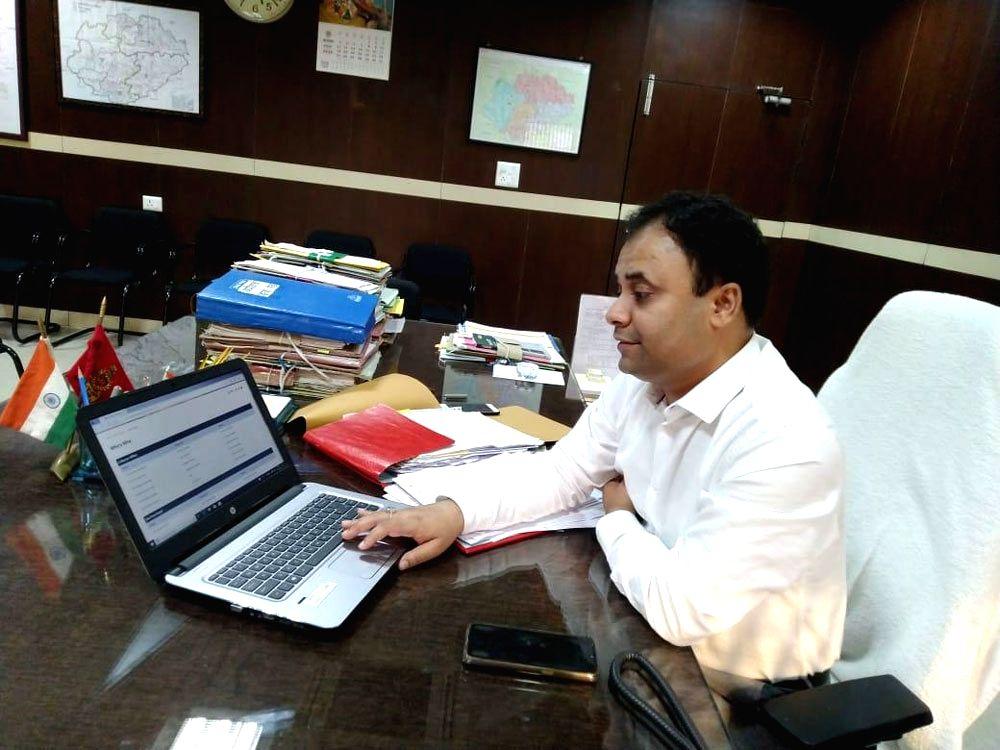 Gwalior Collector Anurag Chaudhary.