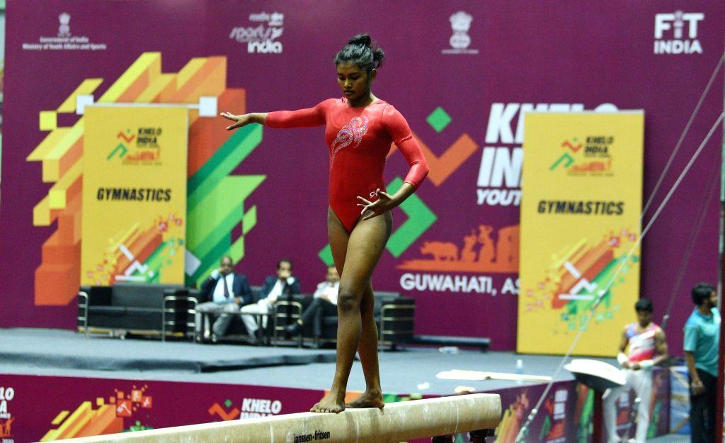 Gymnast Priyanka Dasgupta.