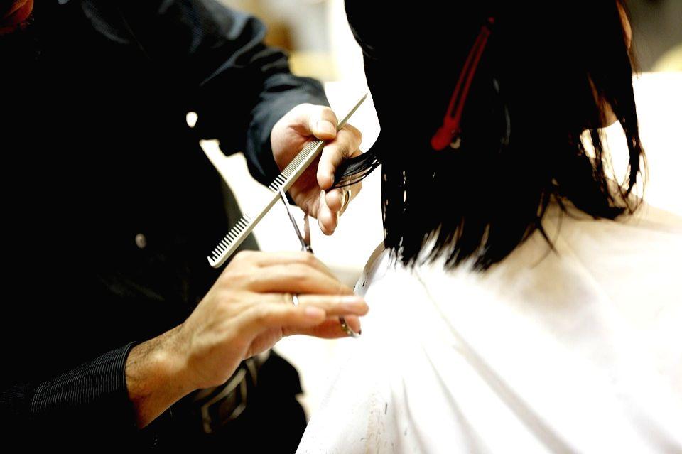 Haircut. (Photo: IANS)