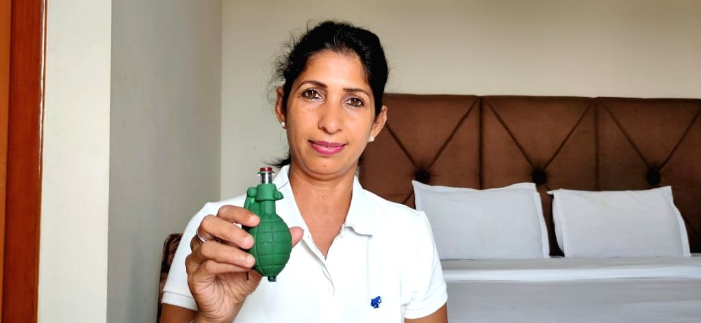 Hand grenades to come to the rescue of women in difficult situations.