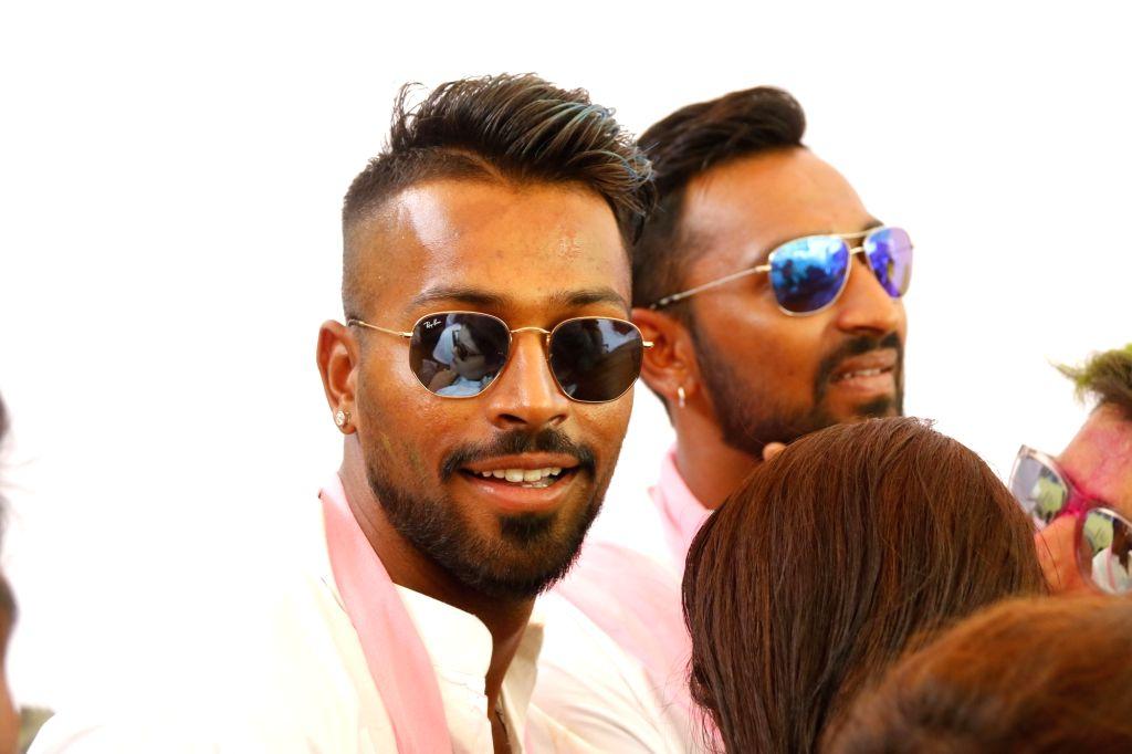 Hardik Pandya and Krunal Pandya. (Photo: IANS)