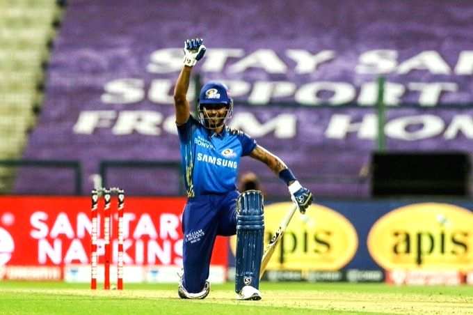 Hardik Pandya takes a knee in support of 'BLM' movement