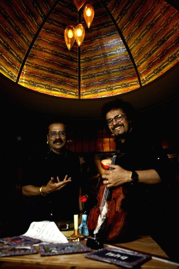 Hariharan and Bickram Ghosh launch 'Ishq' songs.(photo:IANSLIFE) - Bickram Ghosh