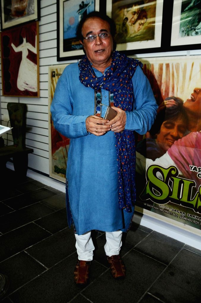 Harish Bhimani during the opening preview of The Osian Group`s The Greatest Indian Show on Earth 2, in Mumbai on June 16, 2017.
