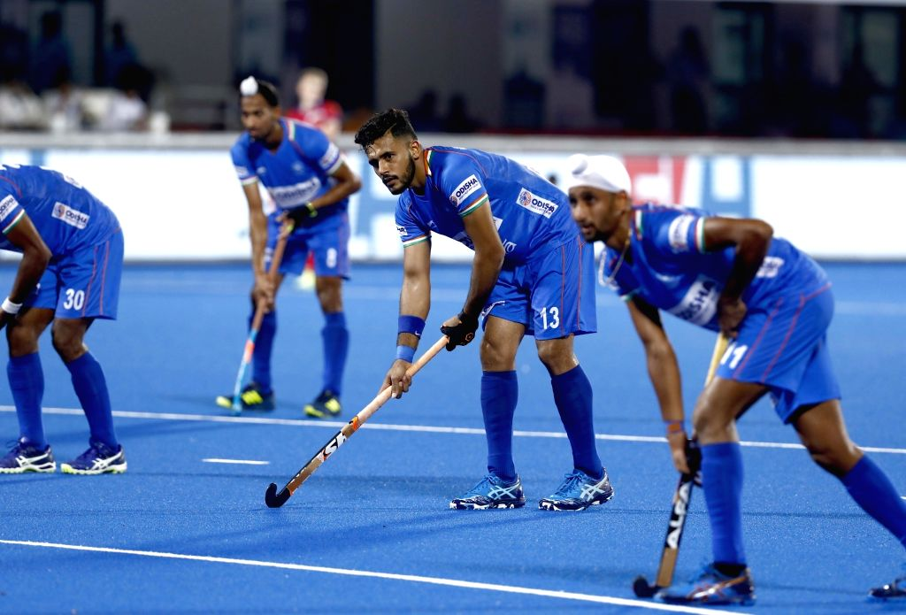 Harmanpreet Singh and Mandeep Singh have been named the Captain and Vice Captain respectively of the Indian Men's Hockey team. - Harmanpreet Singh and Mandeep Singh