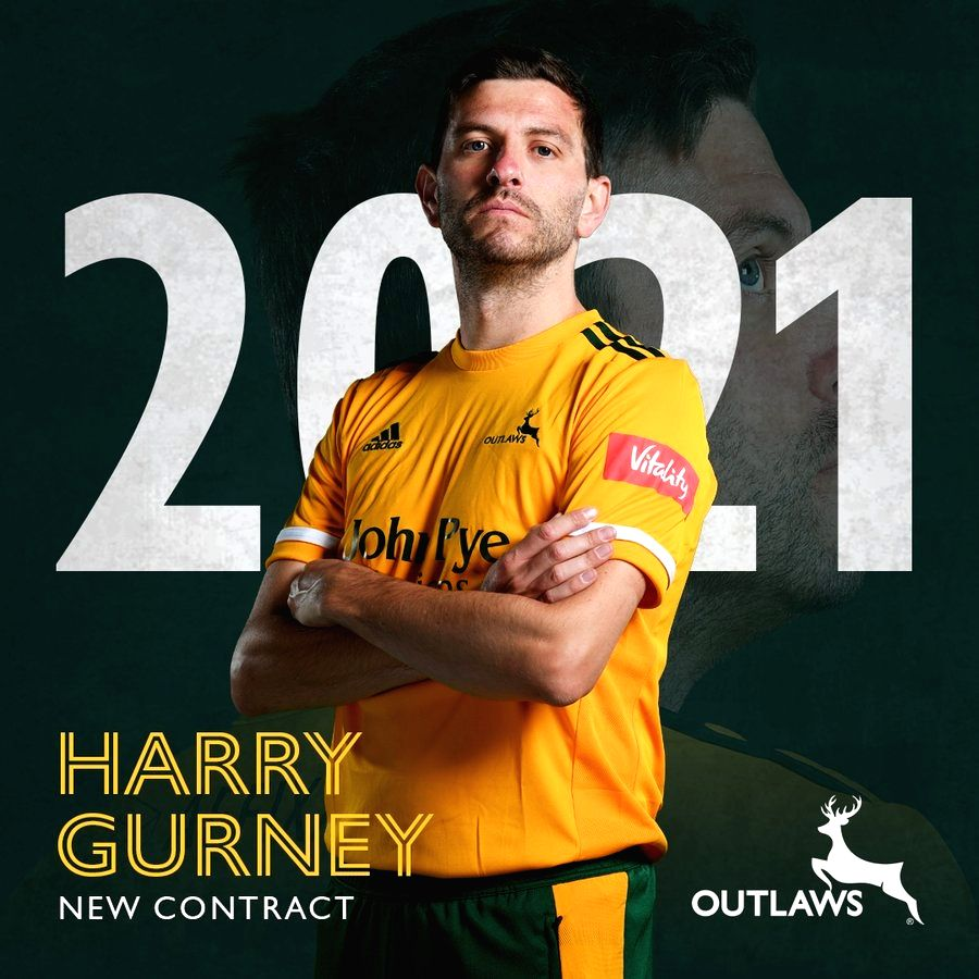 Harry Gurney extends stay at Nottinghamshire