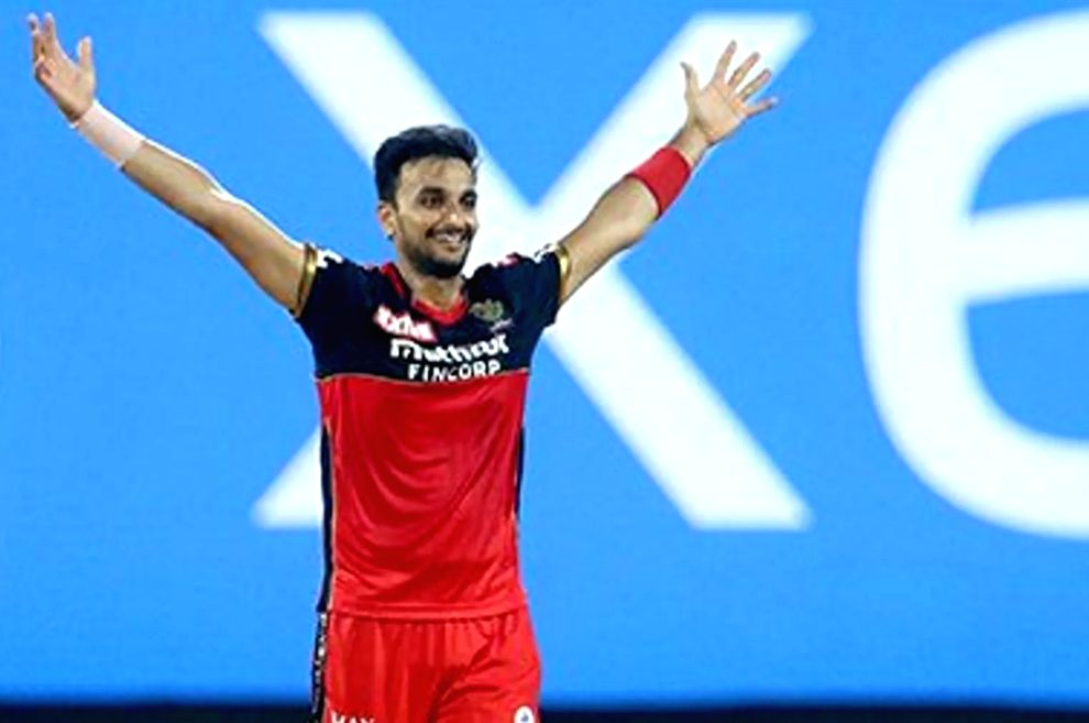 Harshal Patel ( Credit : BCCI/IPL Twitter) - Harshal Patel