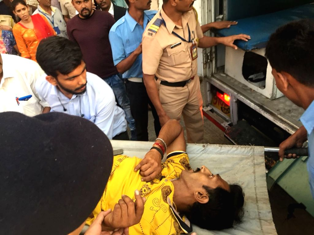 Harshal Suresh Raote, jumped from the fifth floor of the high-security Mantralaya.