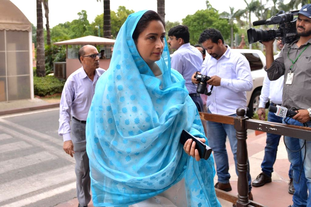 Harsimrat Kaur Badal. (Photo: IANS) - Harsimrat Kaur Badal