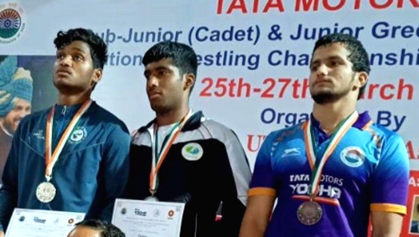 Haryana are junior Greco Roman wrestling champions