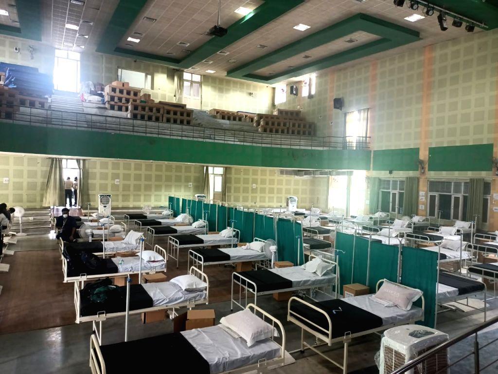 Haryana Chief Minister to inaugurate 3 temporary covid care centers in Gurugram.