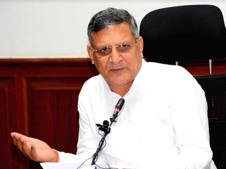 Haryana Education Minister, Sh. Kanwar Pal in Chandigarh on Tuesday June 15, 2021.