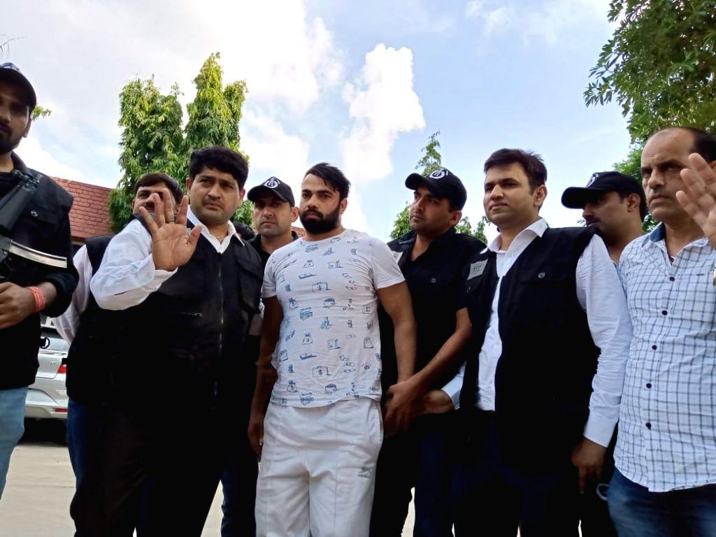 Haryana gangster Kaushal.