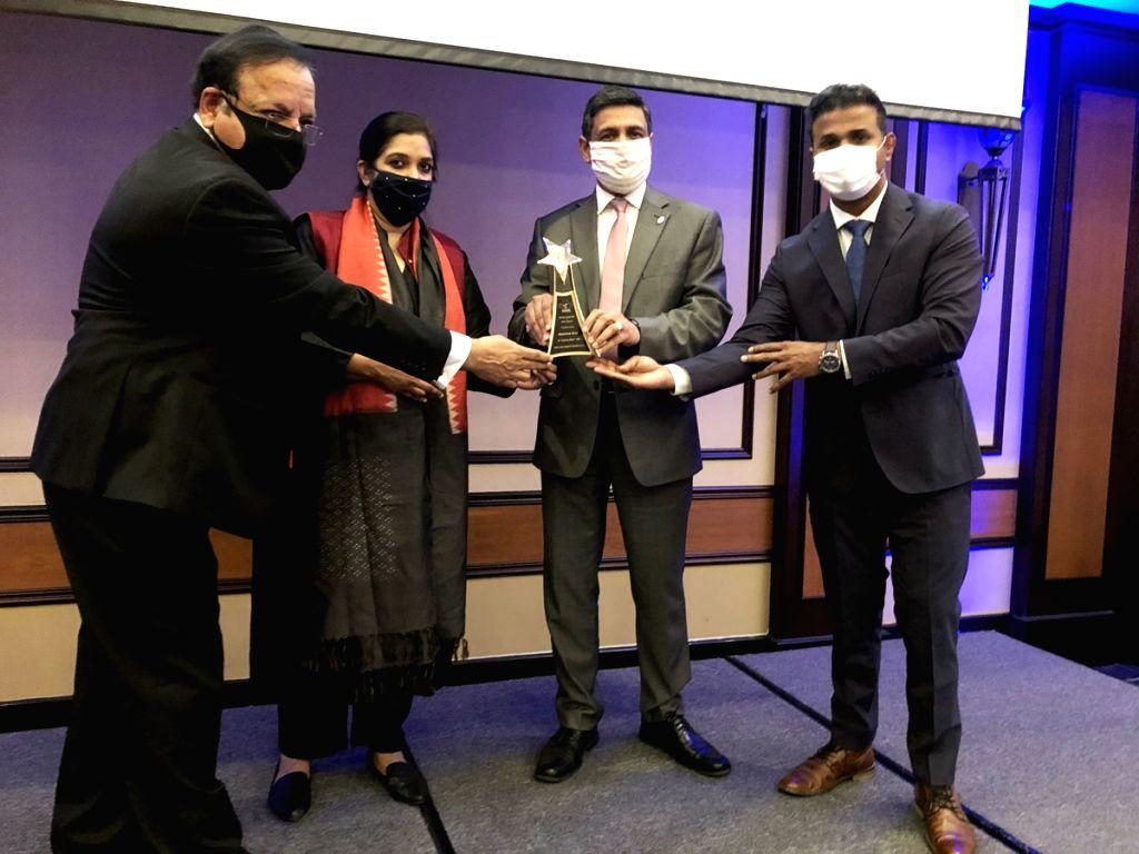 Haryana Ratna Award given to Ambala man Sandeep Goel by Haryana NRIs in Canada