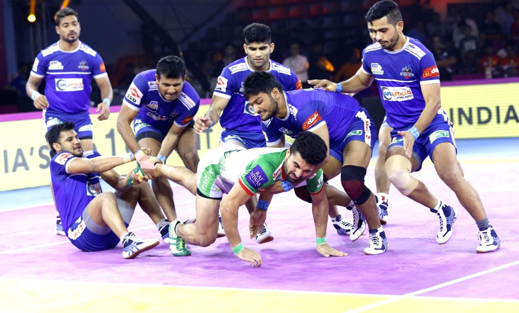 Haryana Steelers players in action.