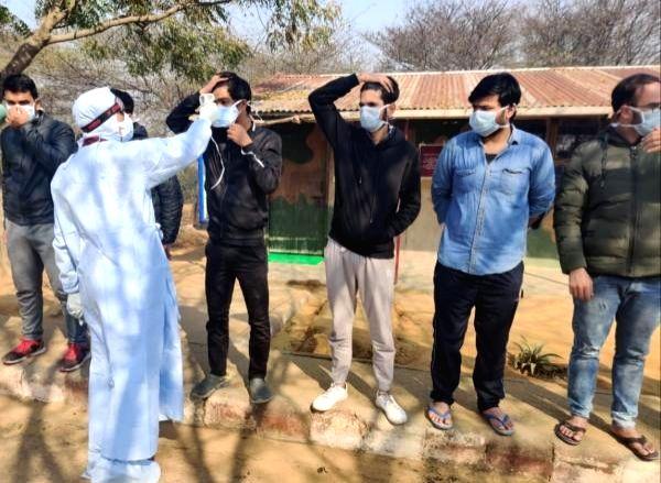 Haryana Tourism Corp provides facilities to Covid warriors.