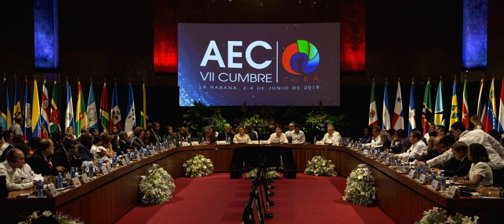 HAVANA, June 5, 2016 - The 7th Summit of the Association of Caribbean States (ACS) is held in Havana, Cuba, on June 4, 2016. The 7th summit of the ACS concluded on Saturday with the approval of the ...