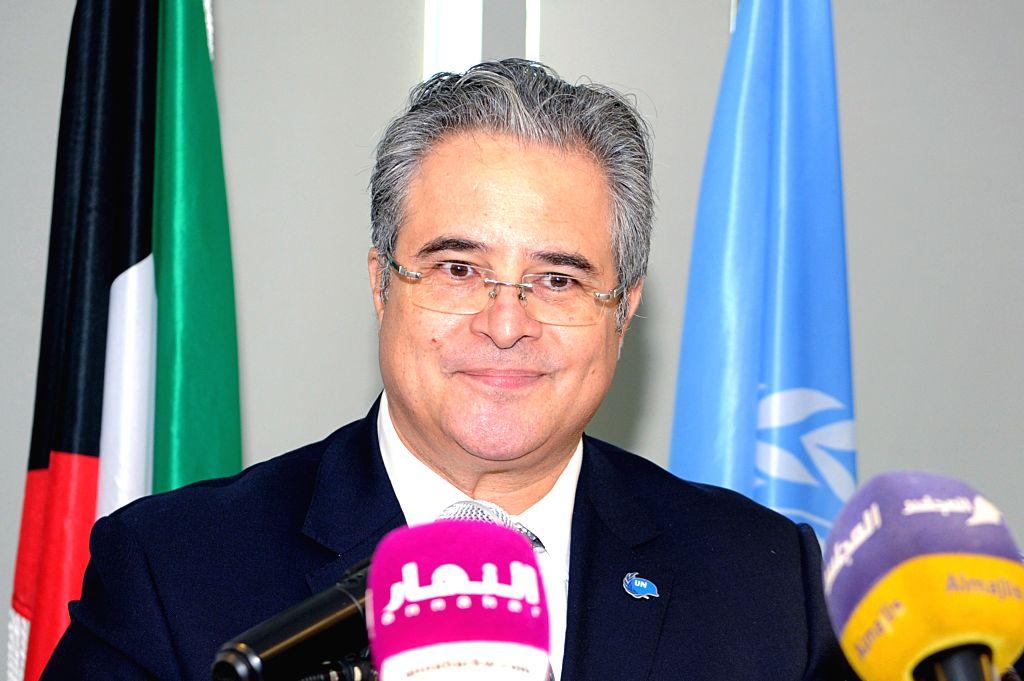 HAWALLI GOVERNORATE (KUWAIT), Oct. 17, 2019 UN Secretary General Representative and Resident Coordinator to Kuwait Tareq Al-Sheikh speaks at a seminar on women's role in Hawalli ...