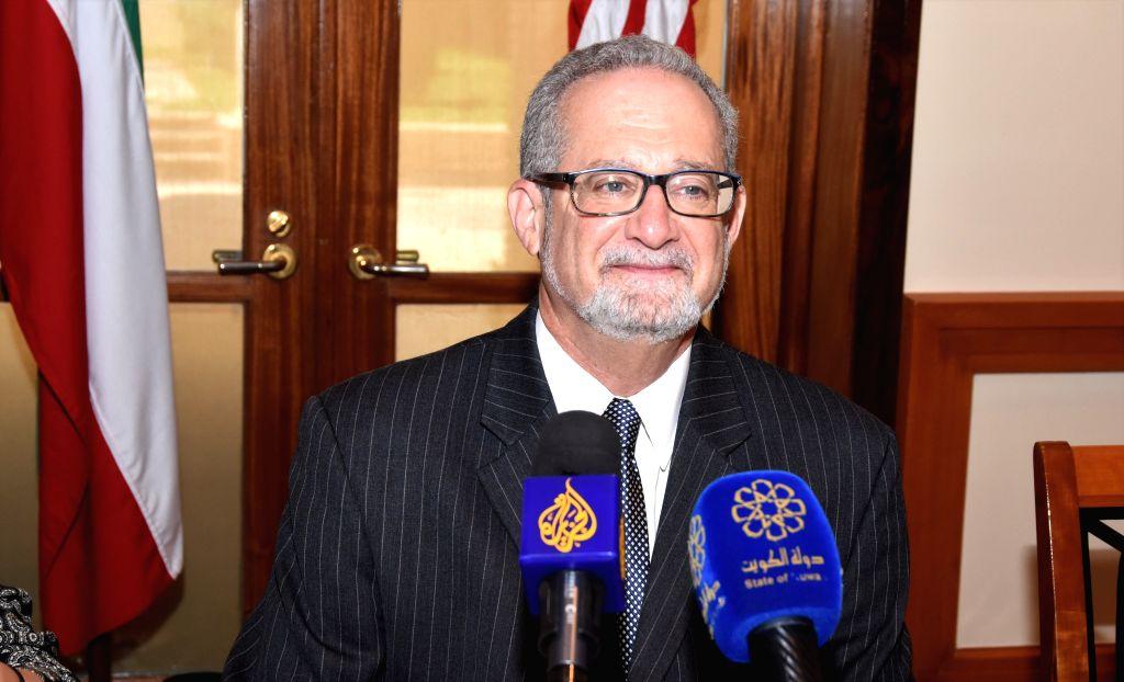 HAWALLI GOVERNORATE (KUWAIT), Sept. 3, 2019 U.S. Ambassador to Kuwait Lawrence Silverman attends a press conference in Bayan, Hawalli Governorate, Kuwait, on Sept. 3, 2019. Kuwaiti and ...