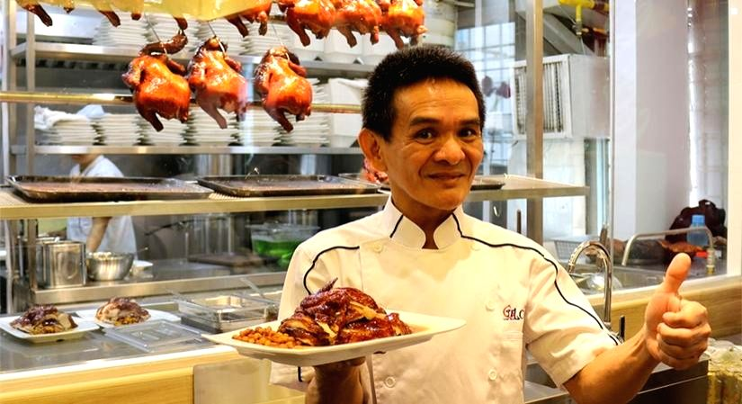 Hawker Chan in Singapore.