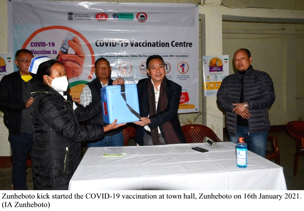 he eight northeastern states joined the nationwide Covid-19 vaccination drive on Saturday with thousands of frontline health workers across hundreds of centres getting inoculated for the infection. ...