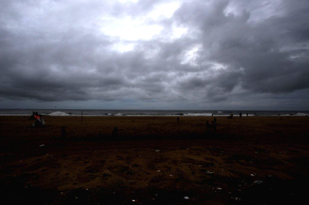 Heavy rains lash Chennai due to the effect of Cyclone Burevi, on Dec 5, 2020.