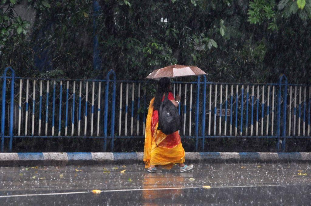 Heavy rains lash Kolkata, on Sept 15, 2018.