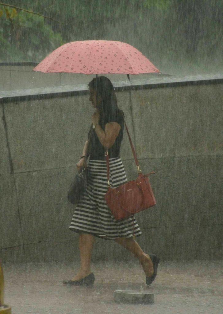Heavy rains lashed New Delhi, on July 13, 2018.