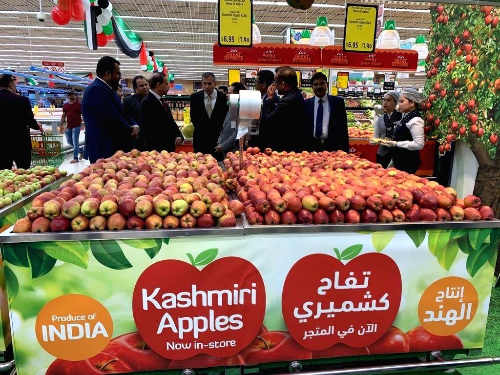 Heeding Modi's call, Lulu imports 400 tons of Kashmiri apples into UAE. - Heeding Modi