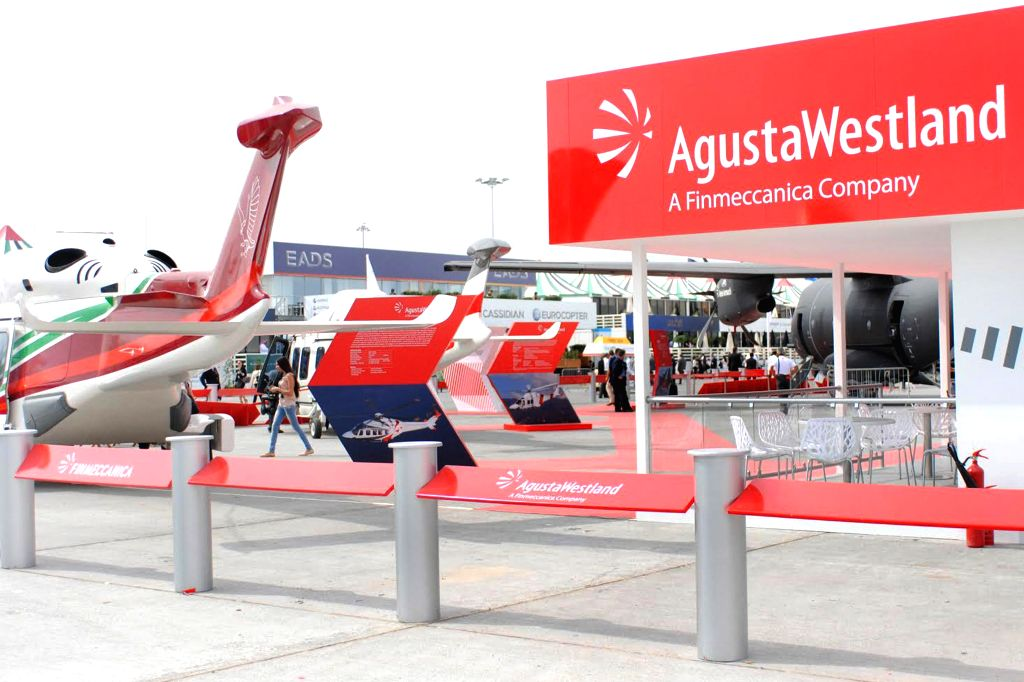 Helicopters of Augusta Westland at airshow in Dubai. (File Photo: IANS)